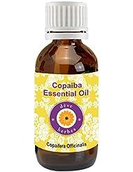Deve Herbes Pure Copaiba Essential Oil 15ml (Copaifera officinalis) 100% Natural Therapeutic Grade