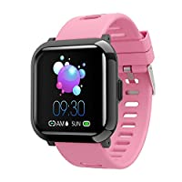 YoYoFit Dream Full Touch Screen Fitness Tracker Smart Watch,Waterproof Sport Watch Activity Tracker with Heart Rate Sleep Monitor Pedometer Watch Step Calorie Counter for Kid Men Women for IOS Android