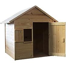 Cabane bois enfant for Cabane de jardin en solde
