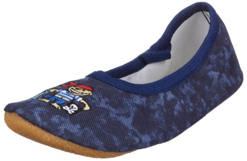 Beck Jungen Pirat Gymnastikschuhe, Blau (dunkelblau), 27 EU