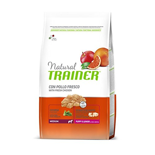 Trainer Natural Puppy&Junior Medium 12,5 Kg.