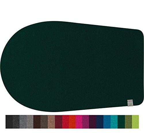 Fine Filz Gleitbrett passend für Kitchen Aid Artisan Küchenmaschine aus echtem Merinowollfilz (Hunter Green, 5) - Green-zubehör Hunter