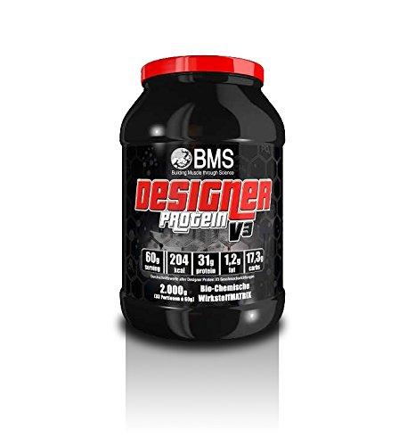 BMS Designer Protein V3 (2.000 g) Dose (Vanille)