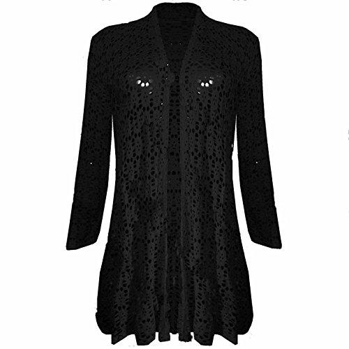 Black Lace Cardigan: Amazon.co.uk