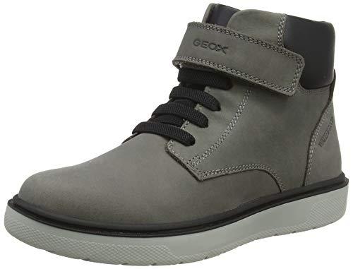 Geox Jungen J RIDDOCK Boy WPF A Chukka Boots, Grau (Dk Grey C9002), 36 EU