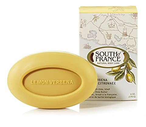 South of France Natural Bar Soap - Lemon Verbena - 6 oz