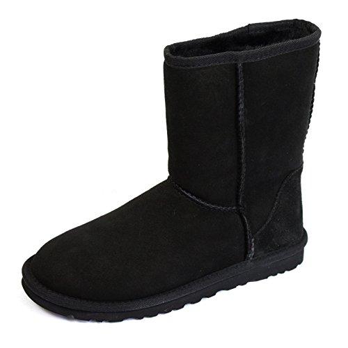 UGG-CLASSIC-SHORT-II-WOMENS-BLACK-SHEEPSKIN-BOOTS