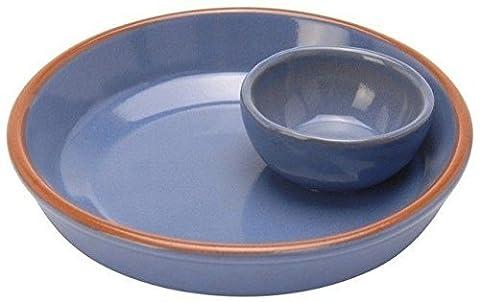 Glazed Terracotta Round Oven Safe Bowl Baking Tapas Serving Dish