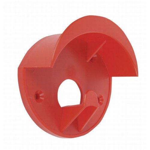 HKM 65853000 Trensenhalter aus Kunststoff, M, rot