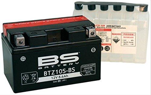 XFIGHT-Parts Batterie btz10s-BS 12V 8,6AH 0,85litri DIN 508901MTF manutenzione da 150X 93X 87mm 0.537.990-4