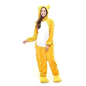 Ganzkörper Tier-Kostüm für Erwachsense - Plüsch Einteiler Overall Jumpsuit Pyjama Schlafanzug - viele Tiere zur Auswahl