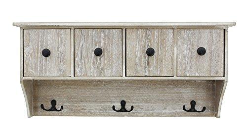 Holz-Garderobe