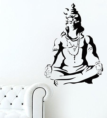 Luke and Lilly Lord Siva & Lord Vinayaga Wall Sticker – Pack of 2 4111mNnV7qL
