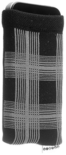 Trendz Universal Smartphone Handysocke - schwarz/grau