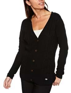 Quiksilver Damen Pullover Feel Heaven, black, XS, KPWPU052-BLK-XS