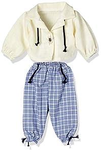 Puppenmode Sturm 8882-1 - Pantalón de Lino con Camisa para muñecas, Color Azul
