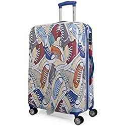 LOIS - 55760 TROLLEY POLICARBONATO, Color Azul