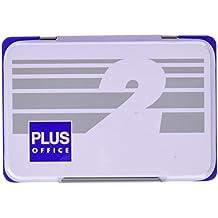 Plus Office 02 - Almohadillas para sellar nº 2, 80 x 120 mm, azul