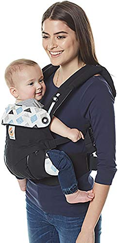Ergobaby Babydraagzak 360 Sunrise Triple Triangles Ergobaby Made of 100 percent cotton and machine washable It has four comfortable and ergonomic ways to wear baby Provides maximum comfort for parents 3