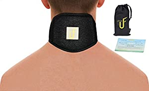 Neck Support Brace for Neck Pain Tension with Self Heating Tourmaline& Magnetic Therapy Arthritis, Headache Relief Adjustable Cervical Collar for Men and Women