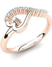 be80ae0bba6c Amazon.es  anillos con corazones rosa - 100 - 200 EUR  Joyería