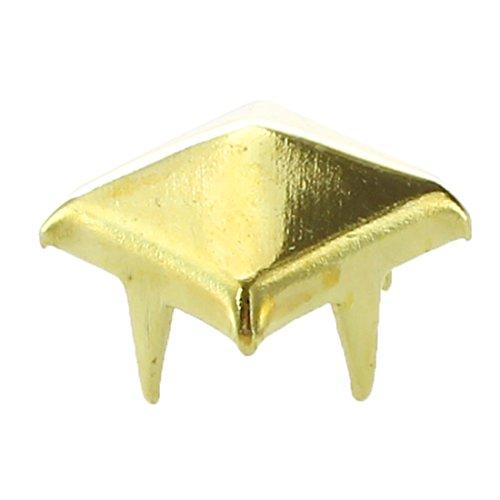 sodialr-100x-apliques-remaches-7mm-dorado-cuadrado-tachuelas-bolsa-calzado-guante