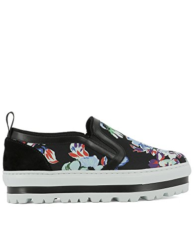 MSGM SLIP ON SNEAKERS DONNA 2241MDS08007 TESSUTO MULTICOLOR