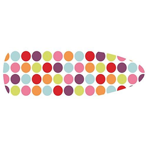 MSV Housse de Table à Repasser élastique, Multicolore, 144 x 50 cm