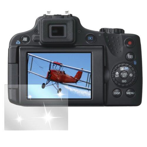 dipos I 6X Schutzfolie klar passend für Canon Powershot SX 50 Folie Displayschutzfolie