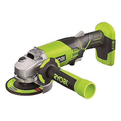 Ryobi R180AG-0 - Amoladora angular 7500 RPM, Negro, Verde, Batería, Ión de litio, 18 V, 2,2 cm