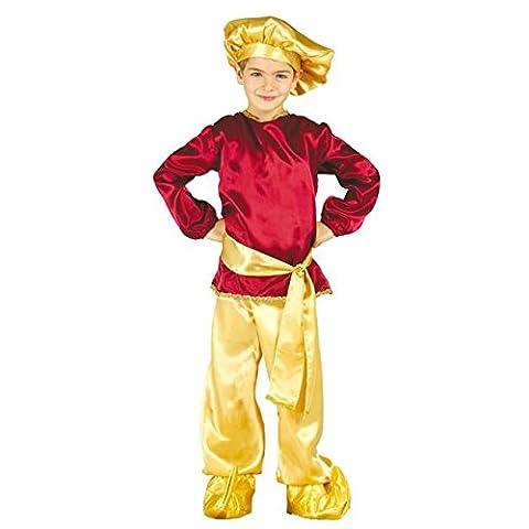 Heiliger König Caspar Kostüm für Kinder Krippenspiel die heiligen drei Könige Kirche Weihnachten Gr. 98-146, (Krippenspiel König Kostüm)