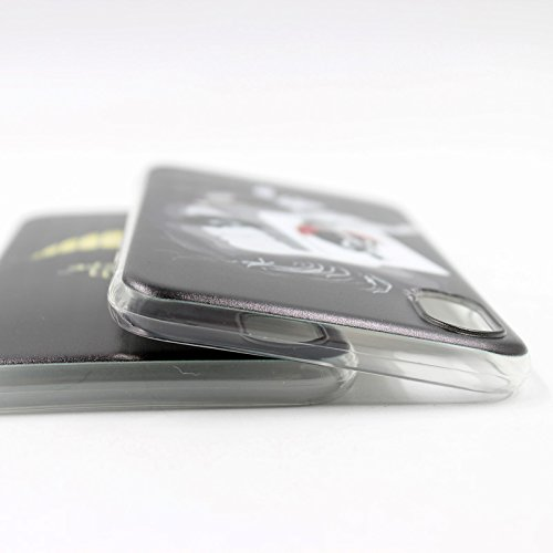 Easbuy Cute Soft TPU Silicium Etui Étui Housse Coque Pour iPhone 8 Anti-Scratch Silicone Silikon Cover Silicon Case Mode 12