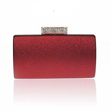 pwne L. In West Frau'S Mode Diamond Abendessen Tasche Red