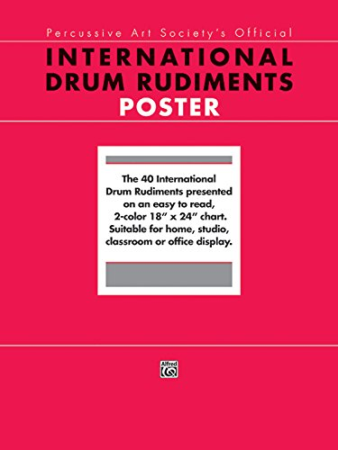 International Drum Rudiments: Poster