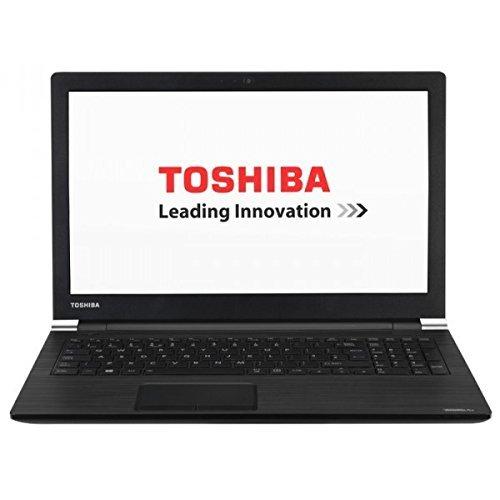 Toshiba Satellite Pro A50-C-1XZ - Ordenador portátil de 15.6in (Intel Core i7-6500U 2.5 GHz, disco duro de 1 TB, 8 GB de RAM, Intel HD Graphics 520, Windows 10) negro (Reacondicionado)