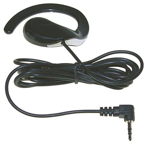 Herren Kostüm Security Guard - Stabo Elektronik 00325 KEP 425 Ohrhörer 1-Fach, Bügel, 2,5 mm Stecker schwarz