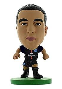Soccerstarz-soc301-Paris St Germain Lucas Moura Home Kit (2018versión)/Cifras