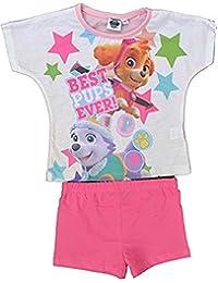 Paw Patrol Niños niña Pijamas de Verano Pijamas de Noche PJs Cortos