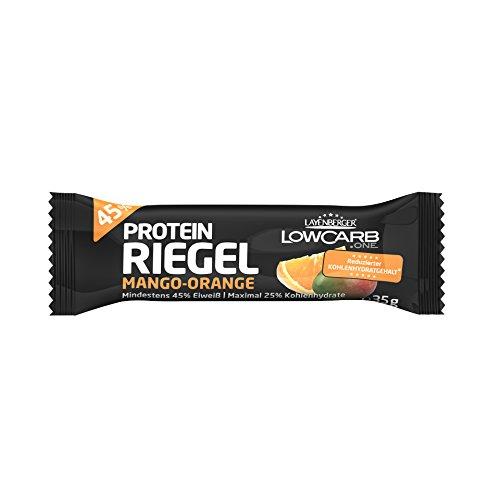 Layenberger LowCarb.one Protein Riegel Mango-Orange, 350 g