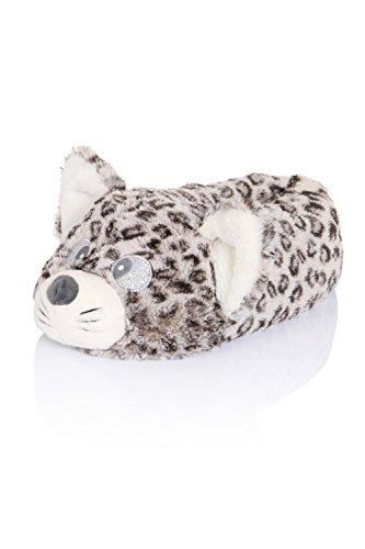 Cute Femmes, femmes, Filles nouveauté 3D Animal Pantoufles Différents Styles, Tailles 3-8 Cutie Cat