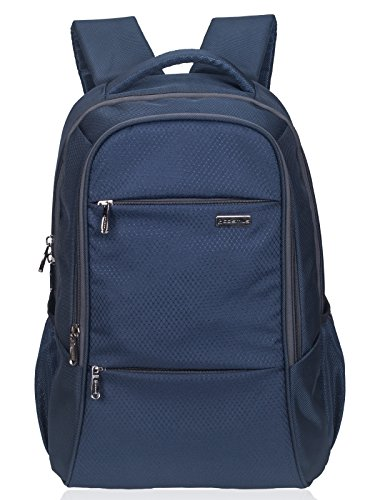 COSMUS Polyester Navy Blue Laptop Backpack for (15.6 inch)