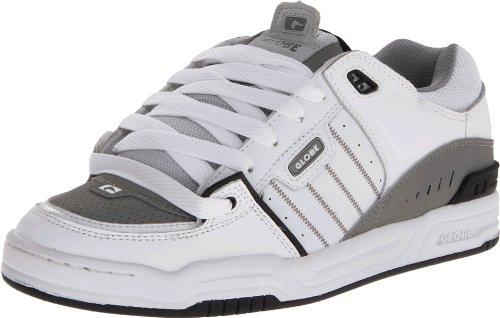 GLOBE Skateboard Shoes FUSION White/Gray/Black Size 8.5