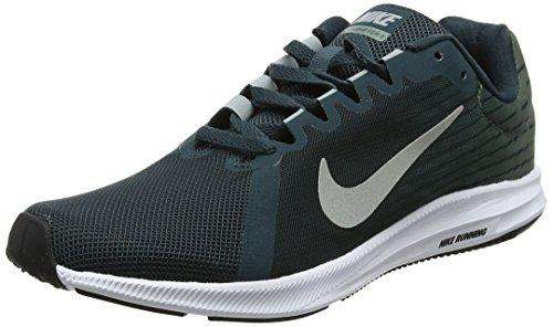 Nike Herren Downshifter 8 Laufschuhe, Grau (Deep Jungle/light Pumice-clay Green White 300) , 40.5 EU