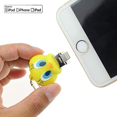 Escomdp usb i flash drive cute lovely cartoon anatra forma animale stick pendrive memory card u disk storage esterno per smart cell phone computer, laptop e pc (32 gb)