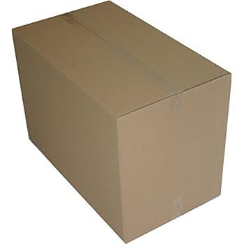 4 St. Faltkartons 1200x600x600 mm Umzugskartons 2.40 BC 2 wellig stabil Versandschachtel 120x60x60 cm Kiste Post Versandbox