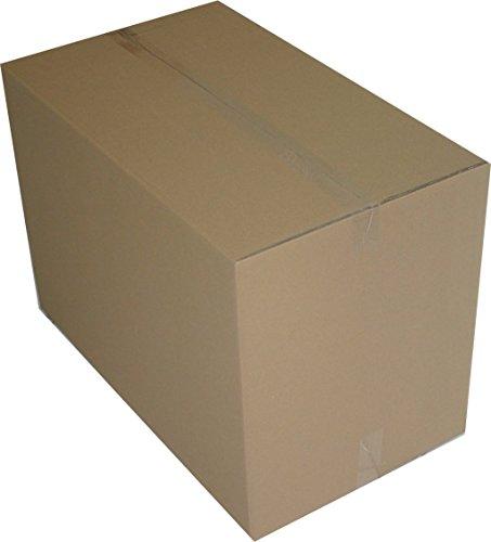 10 Stuck Faltkartons 1200x600x600 Mm Umzugskartons 240 BC 2 Wellig Stabil Versandschachtel 120x60x60 Cm DHL Kiste