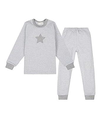 Sense Organics Peter Pan Schlafanzug, Zweiteilig, Gestreift - Pijama Bebé-Niños
