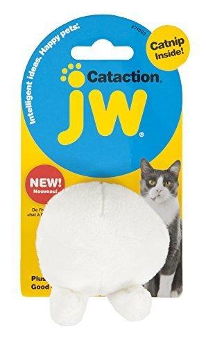 jw Cataction Good Cuz Ball with Catnip Toy, Mehrfarbig by Doskocil -