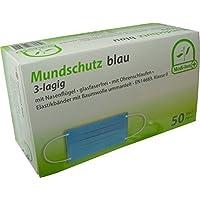 50 Stück Mundschutz OP Maske 3-lagig mit ela. Schlaufe Farbe: blau Medi-Inn preisvergleich bei billige-tabletten.eu