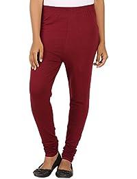 EAGLE Women Marron Color Leggings